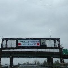 Photo taken at New Jersey Turnpike - Newark by Aldo F. on 10/29/2012