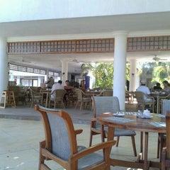 Photo taken at Tamacá Beach Resort Hotel by Jorge C. on 11/11/2012