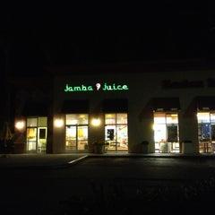 Photo taken at Jamba Juice by Ian L. on 11/13/2012