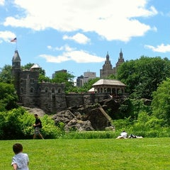 Photo taken at Belvedere Castle by Ljubica on 6/12/2013
