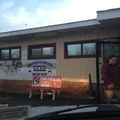 Photo taken at Onondaga Nation Smoke Shop by Steven P. on 12/11/2012
