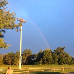 Photo taken at Tracey's Elementary School by Matthew S. on 8/20/2014