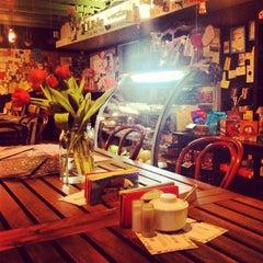 Photo taken at Лавка и кафе Студии Артемия Лебедева by Natalia B. on 2/28/2013
