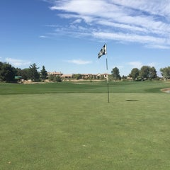 Photo taken at Badlands Golf Club by Chris E. on 4/4/2015