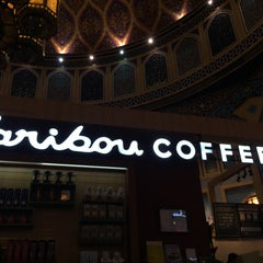 Photo taken at Caribou Coffee by Mohamad S. on 11/27/2015