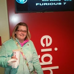 Photo taken at AMC Maple Ridge 8 by Melissa P. on 4/4/2015
