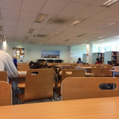 Photo taken at Psb Academy Library by Panissara N. on 11/17/2012