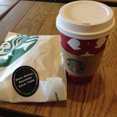 Photo taken at Starbucks by Marisse P. on 11/16/2012