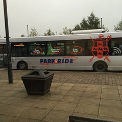 Photo taken at Monks Cross Park & Ride by Chris K. on 10/7/2015