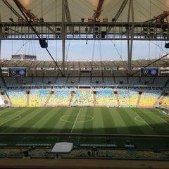 Photo taken at Estádio Jornalista Mário Filho (Maracanã) by Eduardo G. on 9/22/2013