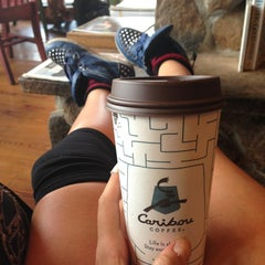 Photo taken at Caribou Coffee by Leah M. on 8/21/2013