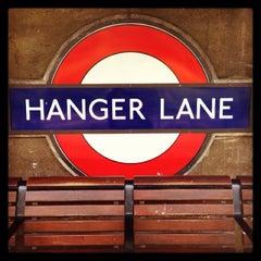 Photo taken at Hanger Lane London Underground Station by Demsi on 9/27/2013