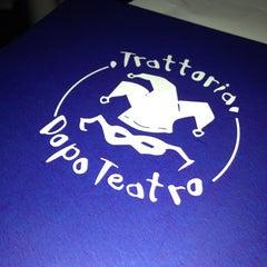 Photo taken at Trattoria Dopo Teatro by Micah L. on 10/10/2012