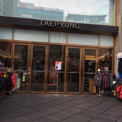 Photo taken at Taepyung Department Store by Young Jun K.🎗 on 12/9/2015