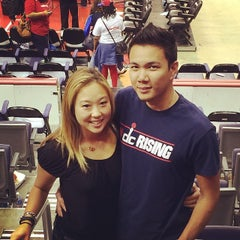 Photo taken at Washington Wizards by Stella C. on 5/12/2014