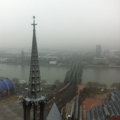 Photo taken at Kölner Dom by WeLL on 3/1/2013