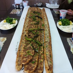 Photo taken at Havzan Etli Ekmek 3 by Muhammed D. on 12/7/2012