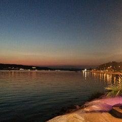 Photo taken at Marina Restaurant Cafe & Bar by Ezel O. on 7/25/2015
