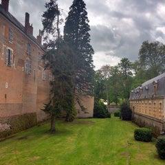 Photo taken at Château de Saint-Fargeau by Michel P. on 5/9/2014