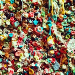 Photo taken at Gum Wall by EAZY e. on 12/29/2012