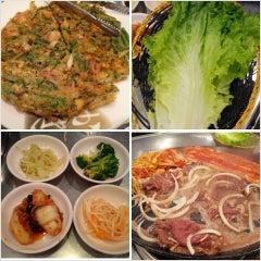 Photo taken at Honey Pig Gooldaegee Korean Grill by Jesse S. on 4/13/2013