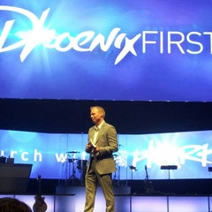 Photo taken at Dream City Church by Lisa W. on 6/2/2013