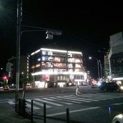 Photo taken at 四条大宮 交差点 by koryu m. on 5/31/2015