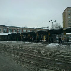 Photo taken at Автовокзал «Вінниця» / Vinnytsia Bus Station by Ian G. on 12/4/2012