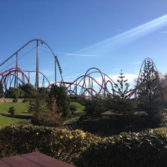 Photo taken at PortAventura Park by Innet N. on 12/16/2012