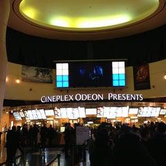 Photo taken at Cineplex Odeon Queensway Cinemas by Matthew P. on 3/16/2013