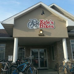 Photo taken at Kyle's Bikes by Ben W. on 3/28/2013