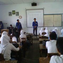 Photo taken at SMA Negeri 1 Genteng by Ahmad H. on 1/23/2013