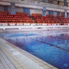 Photo taken at Sportski Centar Igalo by Kristian C. on 7/12/2013