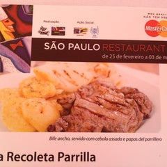 Photo taken at La Recoleta Parrilla by Renata A. on 3/1/2013