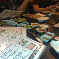 Photo taken at Honey Pig Gooldaegee Korean Grill by Christina Z. on 4/13/2013