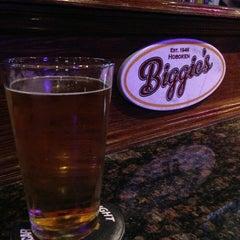 Photo taken at Biggie's Restaurant Raw Bar Tavern by Liang Z. on 3/7/2013