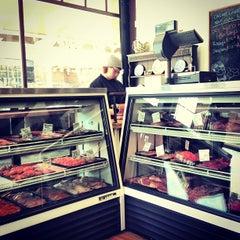 Photo taken at Big Lou's Butcher Shop by Evan H. on 4/24/2013