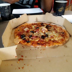 Photo taken at Domino's Pizza by Mya L. on 11/2/2013