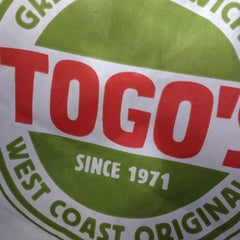 Photo taken at TOGO'S Sandwiches by Christian B. on 10/27/2013