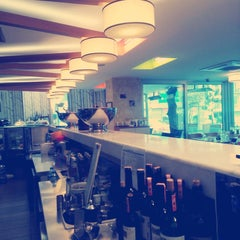 Photo taken at Muizz Cafe & Restaurant by Ebru T. on 11/24/2014