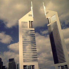 Photo taken at Emirates Towers أبراج الإمارات by Ahmed E. on 12/4/2012