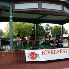 Photo taken at Niles Riverfront Park by Victor M. on 8/1/2014