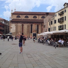 Photo taken at Campo San Stefano by Jerry L. on 6/10/2013