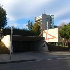 Photo taken at Parking Pau Casals by Oscar G. on 1/26/2014
