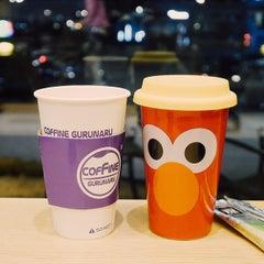 Photo taken at COFFINE GURUNARU by Hana K. on 1/13/2015