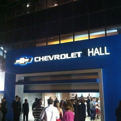 Photo taken at Chevrolet Hall by Pe Thiago F. on 12/8/2012