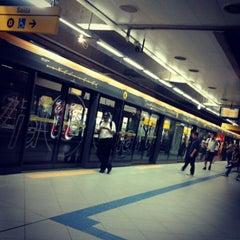 Photo taken at Estação Butantã (Metrô) by Dan I. on 2/4/2013
