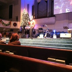 Photo taken at Taylors First Baptist Church by Wesley N. on 12/23/2012