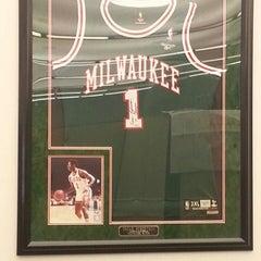 Photo taken at Milwaukee Bucks Backcourt Office by Robert R. on 9/25/2013