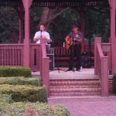 Photo taken at Pump House Park & Gazebo by RoseAnn R. on 7/24/2013